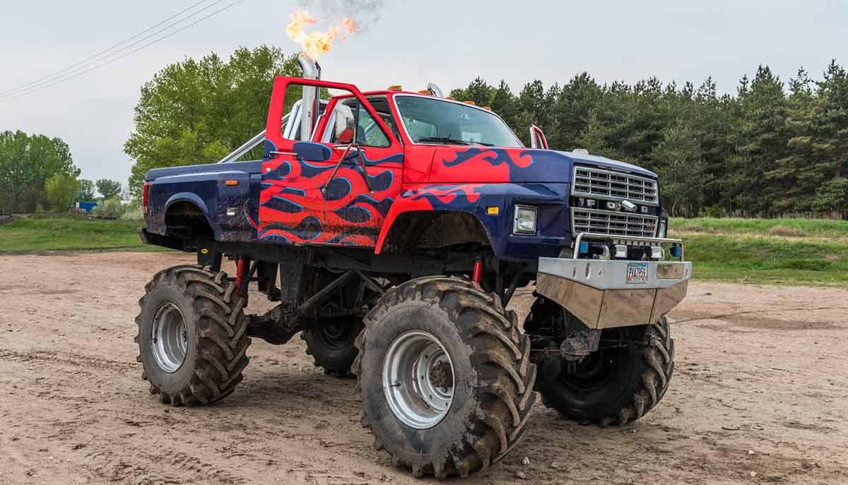 BigFoot Monster Truck Vezetés