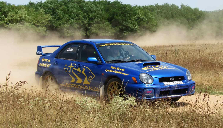 Rally Versenyautó Vezetés