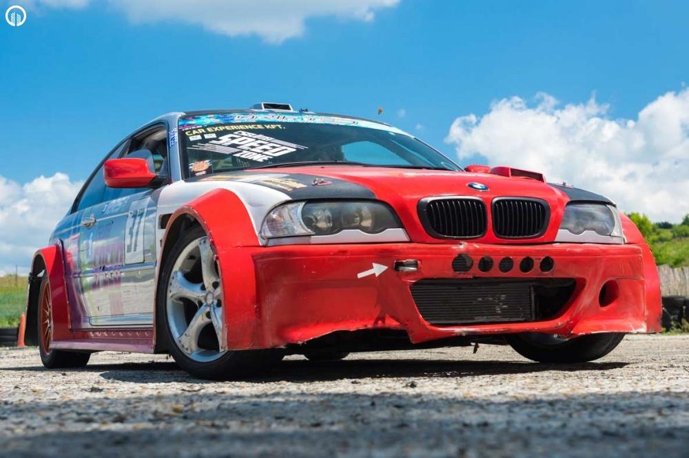 BMW E46 AC Schnitzer Drift Versenyautó Vezetés Ajándék Oktatással - 2.