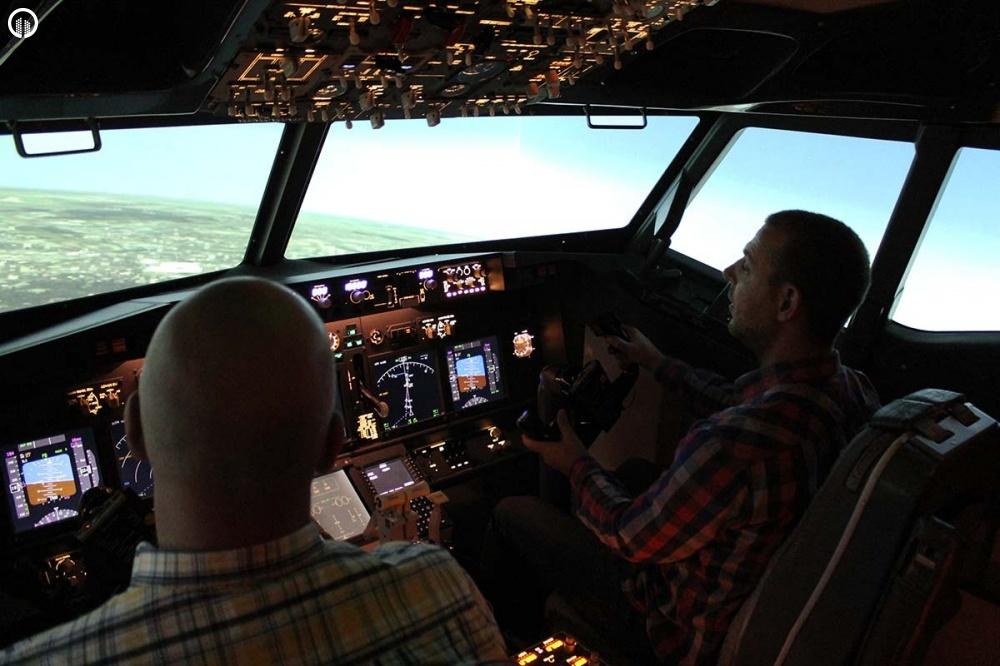 Boeing 737 Repülőgép Szimulátor Vezetés 1 óra - 2.