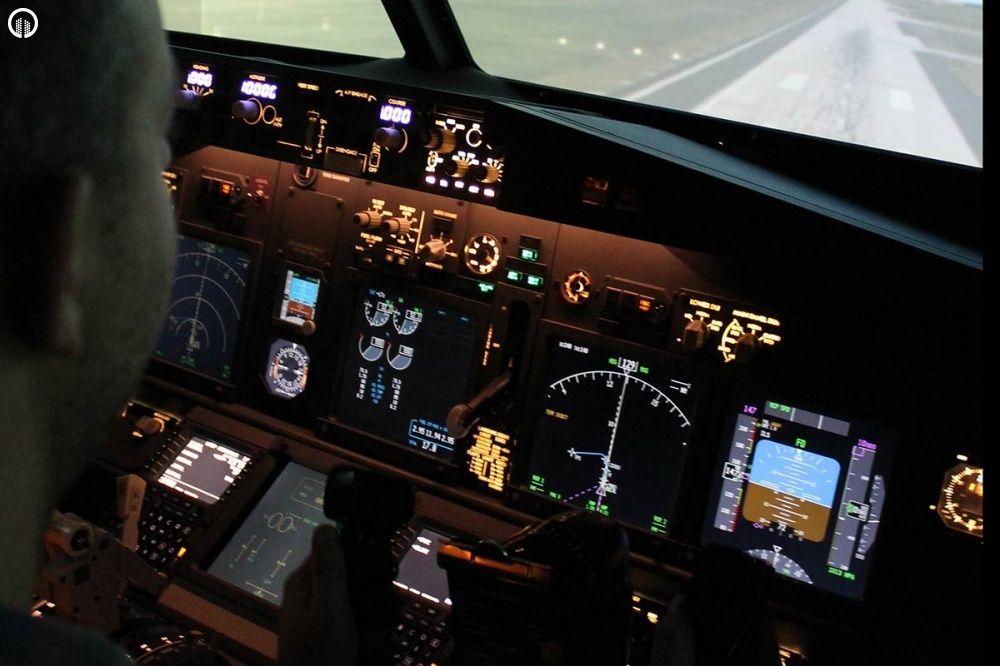 Boeing 737 Repülőgép Szimulátor Vezetés 40 perc - 3.