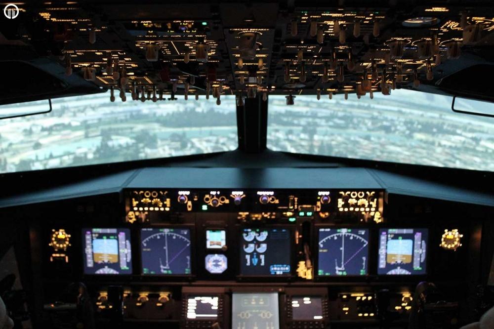 Boeing 737 Repülőgép Szimulátor Vezetés 40 perc - 4.