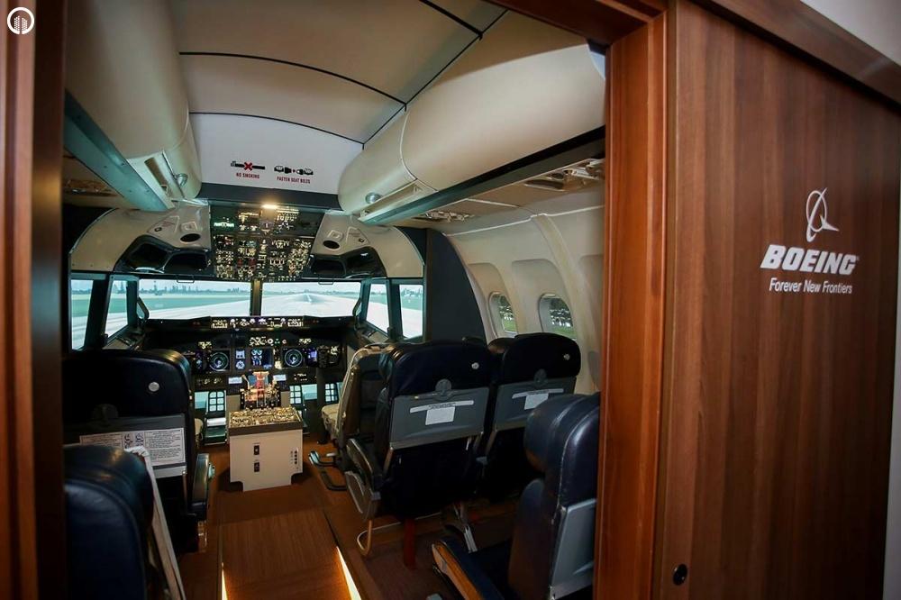 Boeing 737 Repülőgép Szimulátor Vezetés 40 perc - 6.
