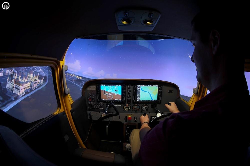 Cessna 172 Repülőgép Szimulátor Vezetés - 1.