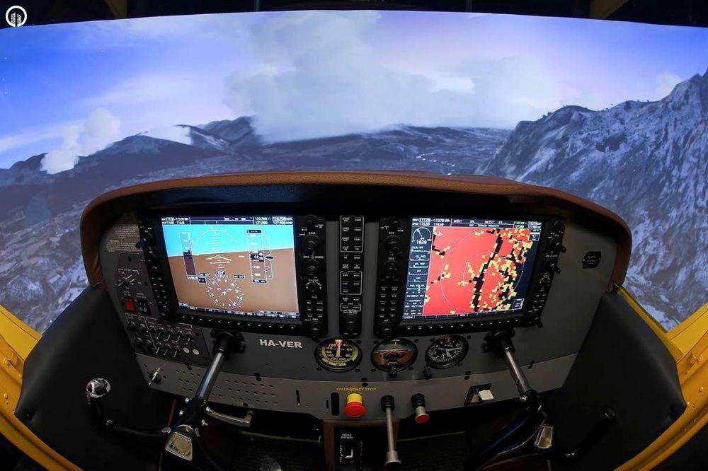 Cessna 172 Repülőgép Szimulátor Vezetés - 2.