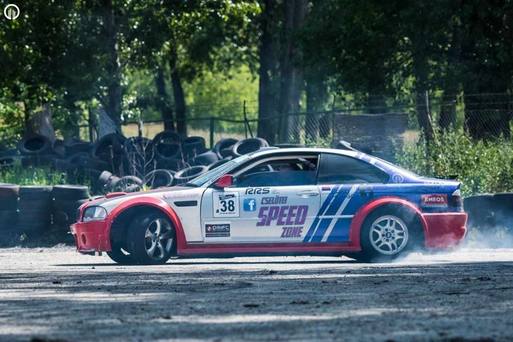 Drift Taxi BMW E46 AC Schnitzer Versenyautóval Budapesten 3 kör - 1.