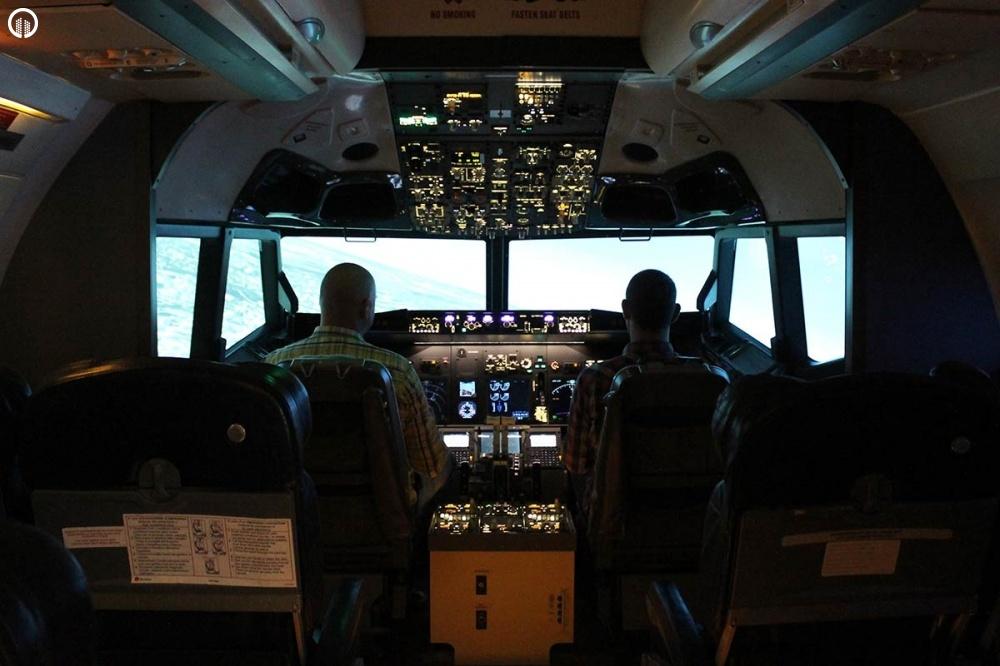 Engine Failure - Boeing 737 Repülőgép Szimulátor Vezetés - 1.