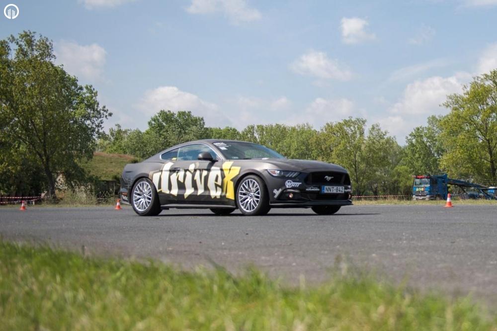 Ford Mustang GT 500 Lóerős Izomautó Vezetés Közúton - 6.