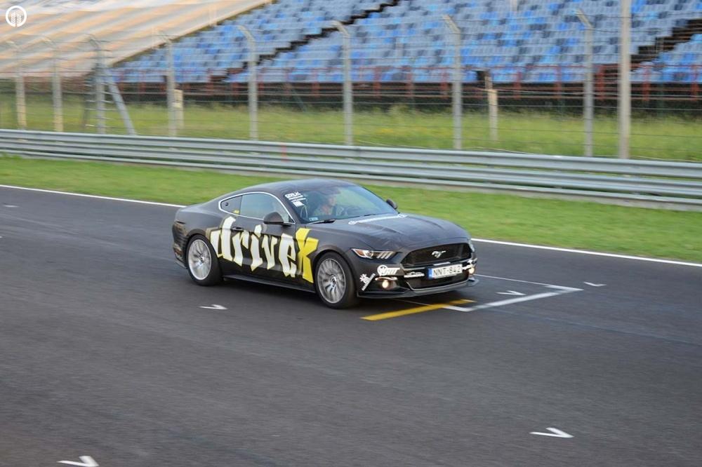 Ford Mustang GT 500 Lóerős Izomautó Vezetés a Hungaroringen - 4.