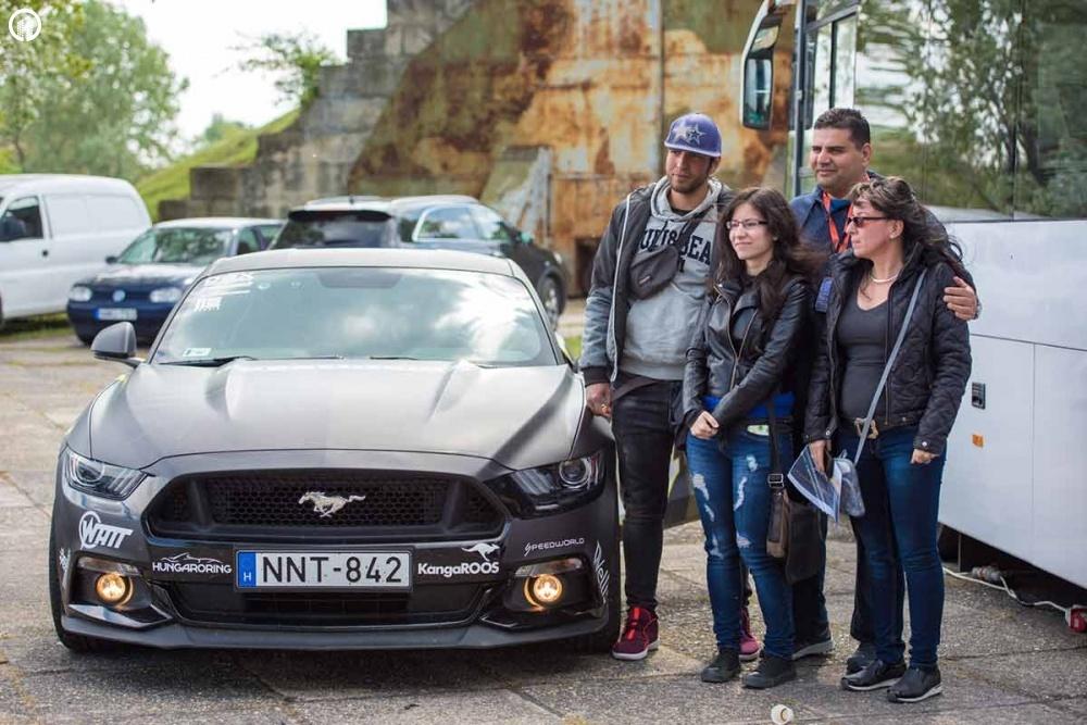 Ford Mustang GT 500 Lóerős Izomautó Vezetés az EuroRingen - 3.