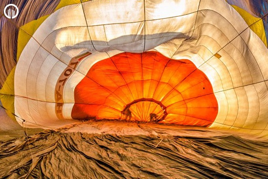 Romantikus Hőlégballonos Sétarepülés Pároknak - Szerelem Csomag - 5.