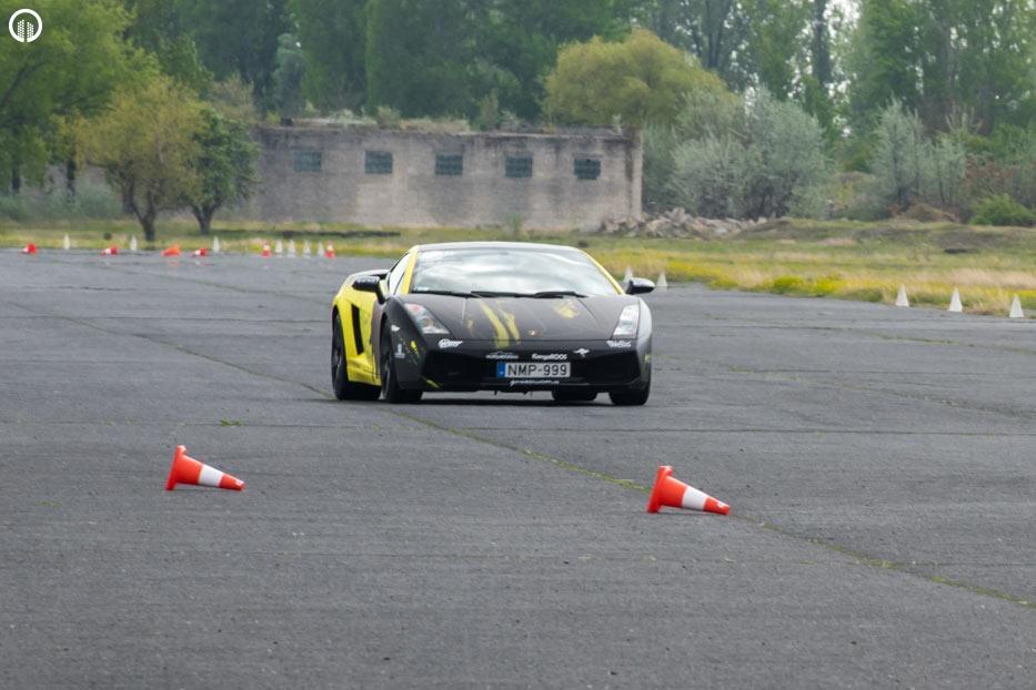 Lamborghini Gallardo LP 550-2 SzuperSportautó Vezetés a DRXRingen - 4.