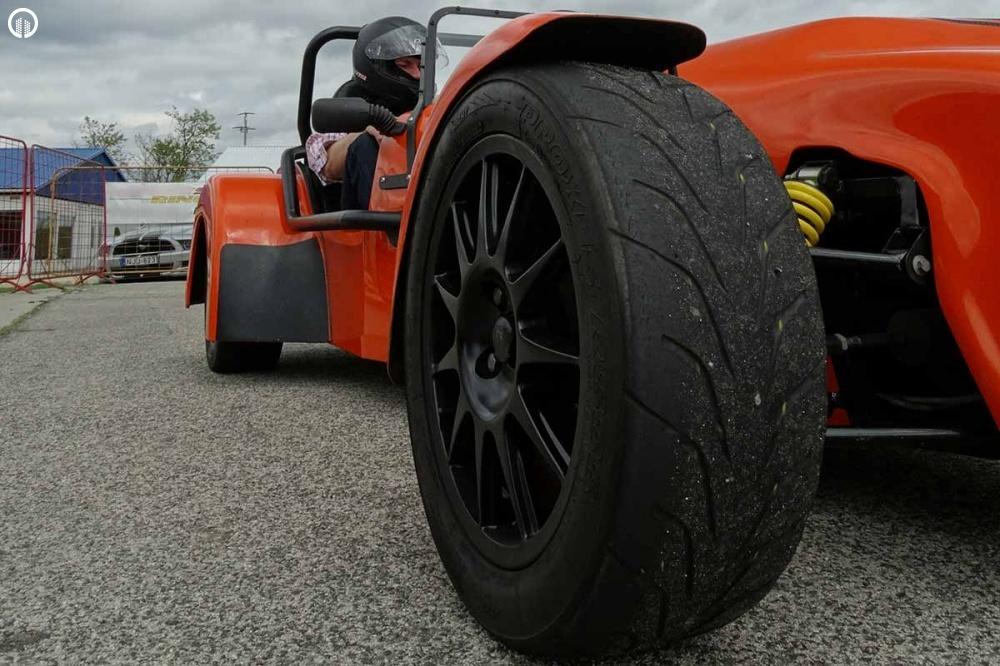 Lotus Super Seven Cabrio Versenyautó Vezetés a DRXRingen - 1.