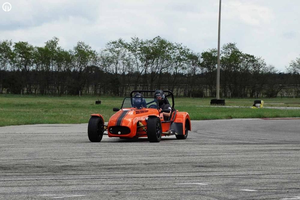 Lotus Super Seven Cabrio Versenyautó Vezetés a DRXRingen - 2.