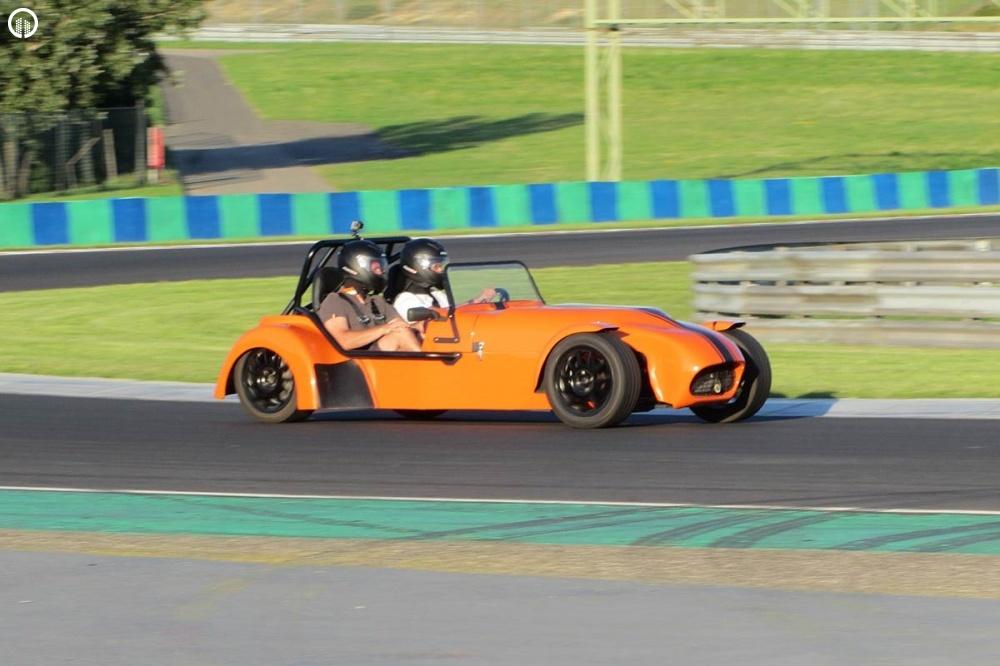 Lotus Super Seven Cabrio Versenyautó Vezetés a Hungaroringen - 1.