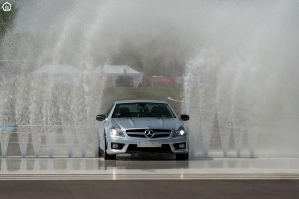 Mercedes-Benz Vezetéstechnikai Tréning - Saját Autóval - 5.