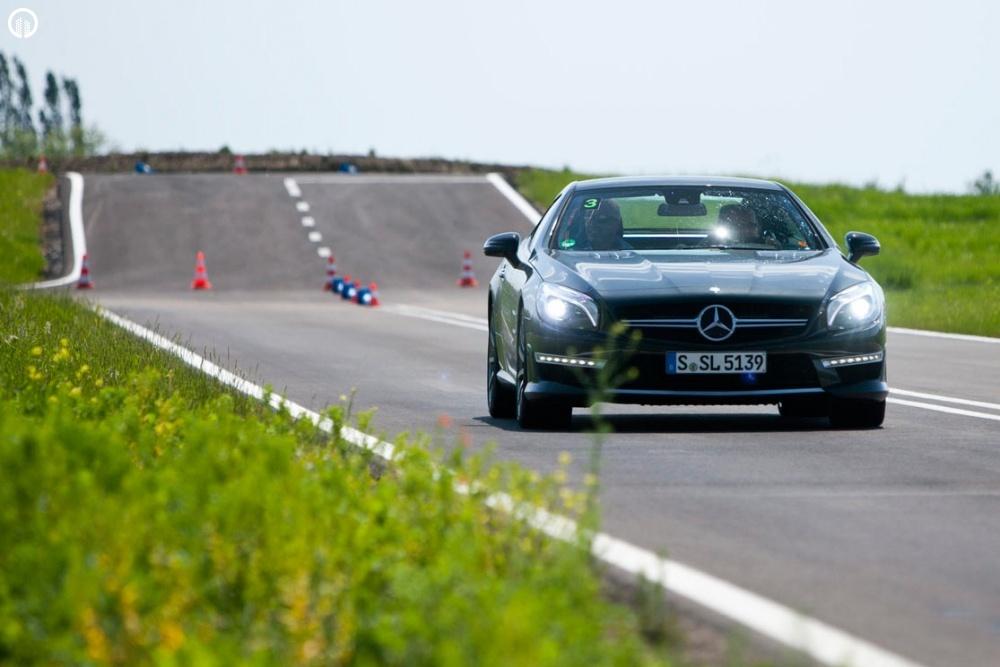 Mercedes-Benz Vezetéstechnikai Tréning - Saját Autóval - 2.