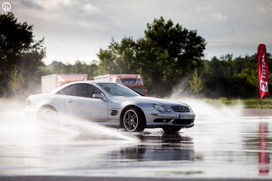 Mercedes-Benz Vezetéstechnikai Tréning - Saját Autóval - 6.