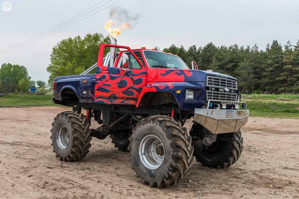 MonsterTruck Vezetés | Igazi BigFoot Élmény - 1.