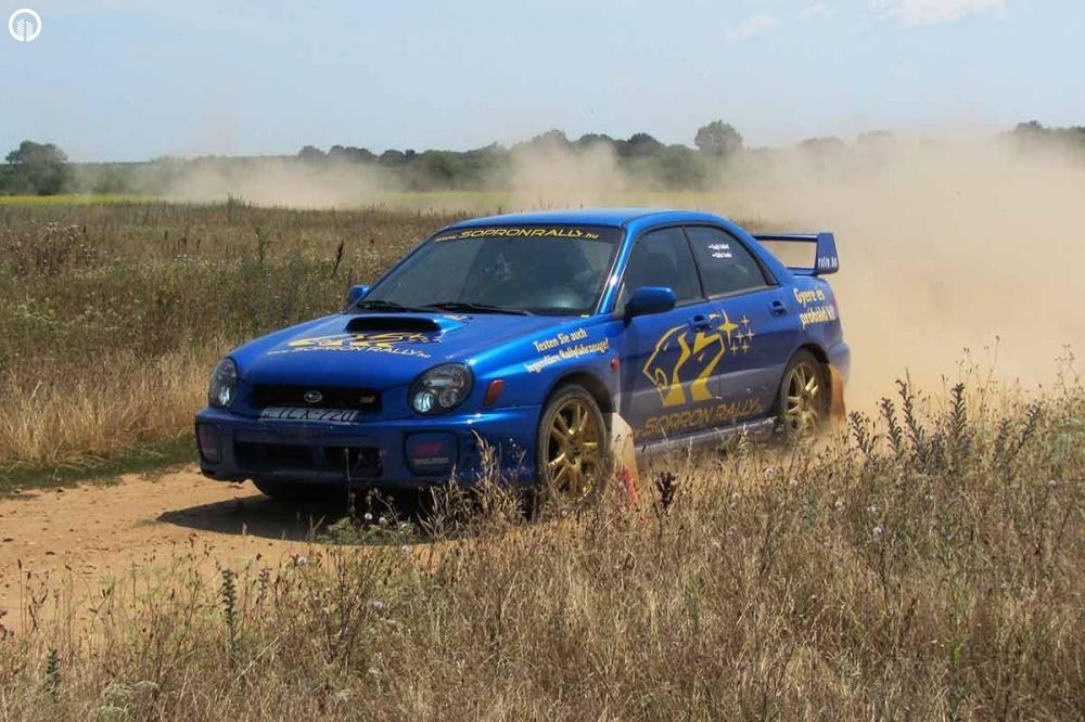 Subaru Impreza STi Rally Versenyautó Vezetés RallyCross Pályán - 1.