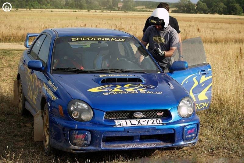 Subaru Impreza STi Rally Versenyautó Vezetés RallyCross Pályán - 2.