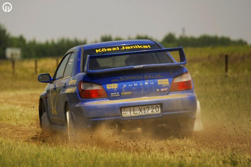 Subaru Impreza STi Rally Versenyautó Vezetés RallyCross Pályán - 3.