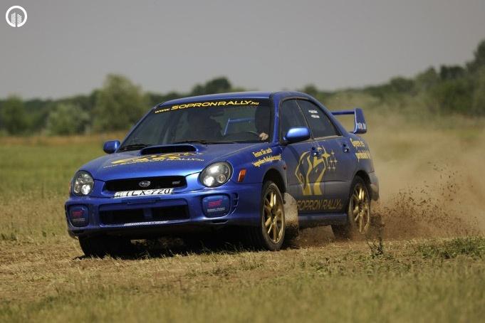 Subaru Impreza STi Rally Versenyautó Vezetés RallyCross Pályán - 4.