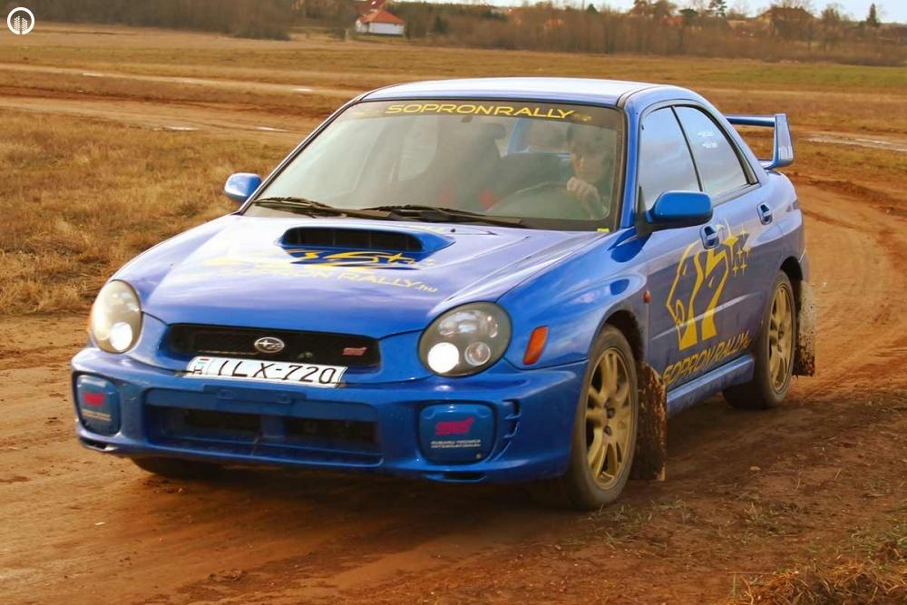 Subaru Impreza STi Rally Versenyautó Vezetés RallyCross Pályán - 5.