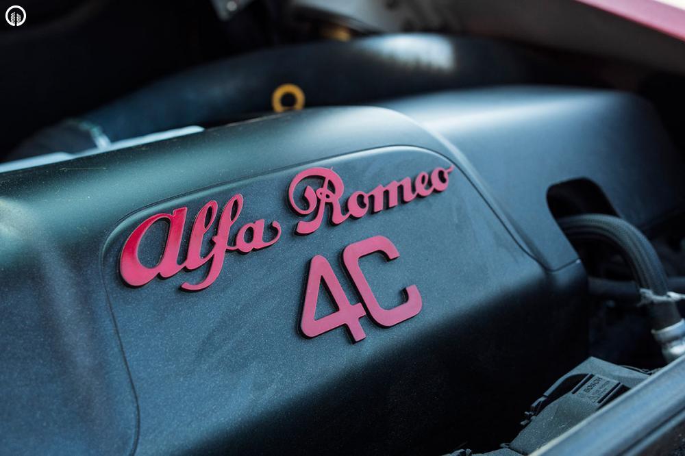 Alfa Romeo 4C Vezetés a HungaroRingen - 1.