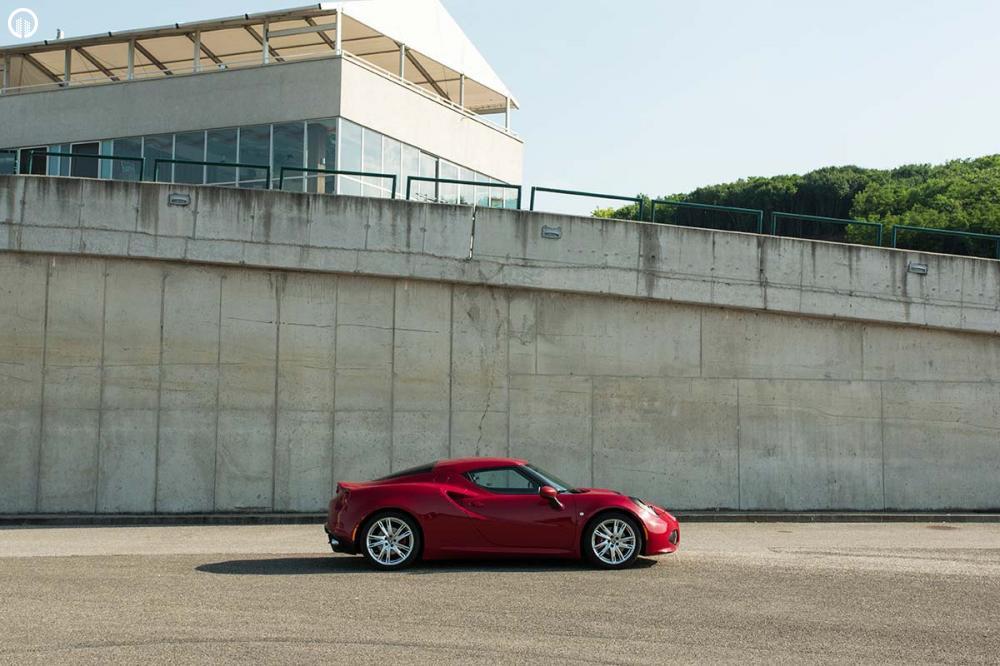 Alfa Romeo 4C Vezetés a HungaroRingen - 2.