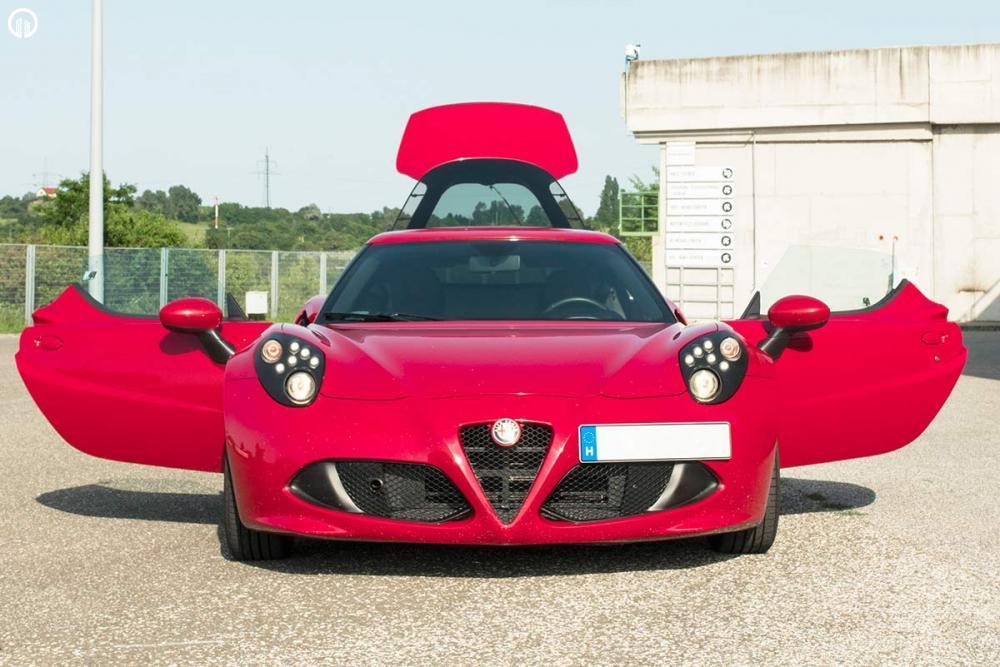 Alfa Romeo 4C Vezetés a DRXRingen - 4.