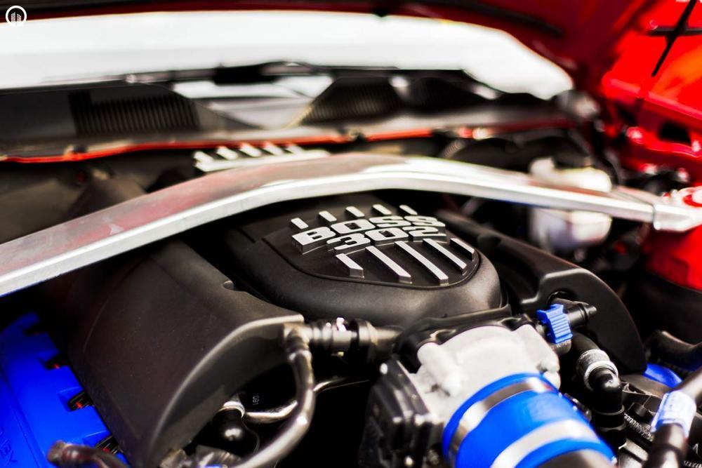 Ford Mustang BOSS 302 Izomautó Vezetés a DRXRingen - 1.