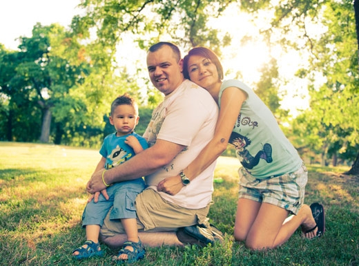 Családi Portfólió Fotózás - Együtt az Egész Család - 2.