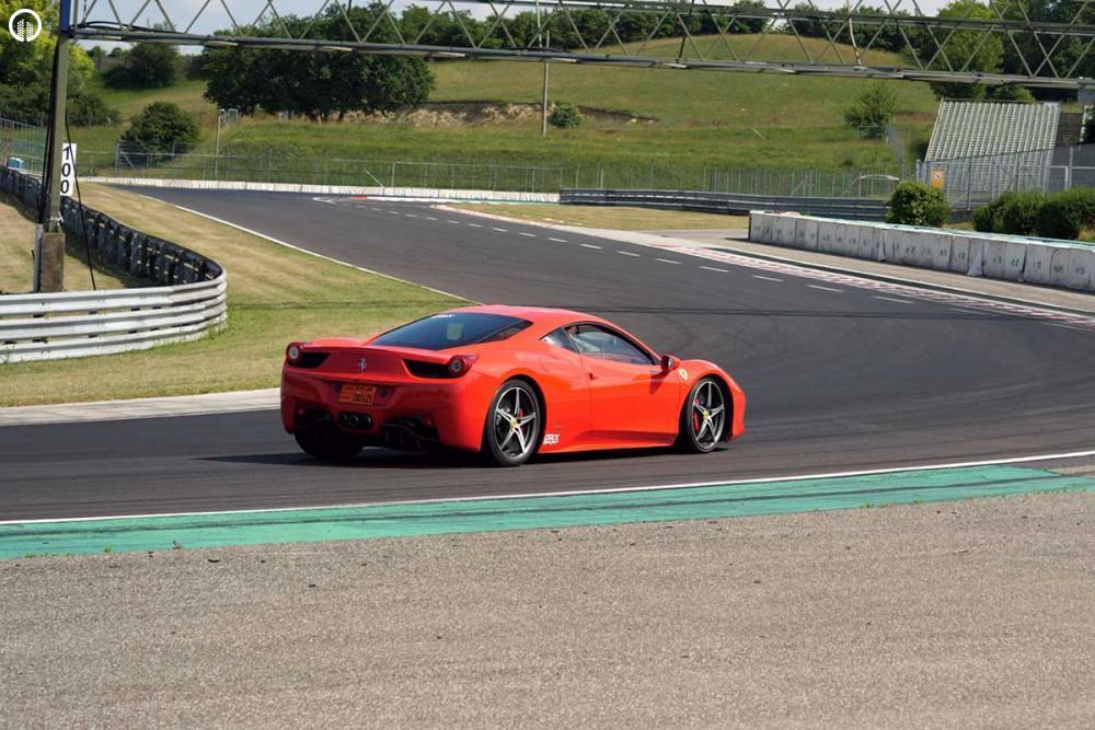 Ferrari 458 Italia Vezetés az EuroRingen - 4.