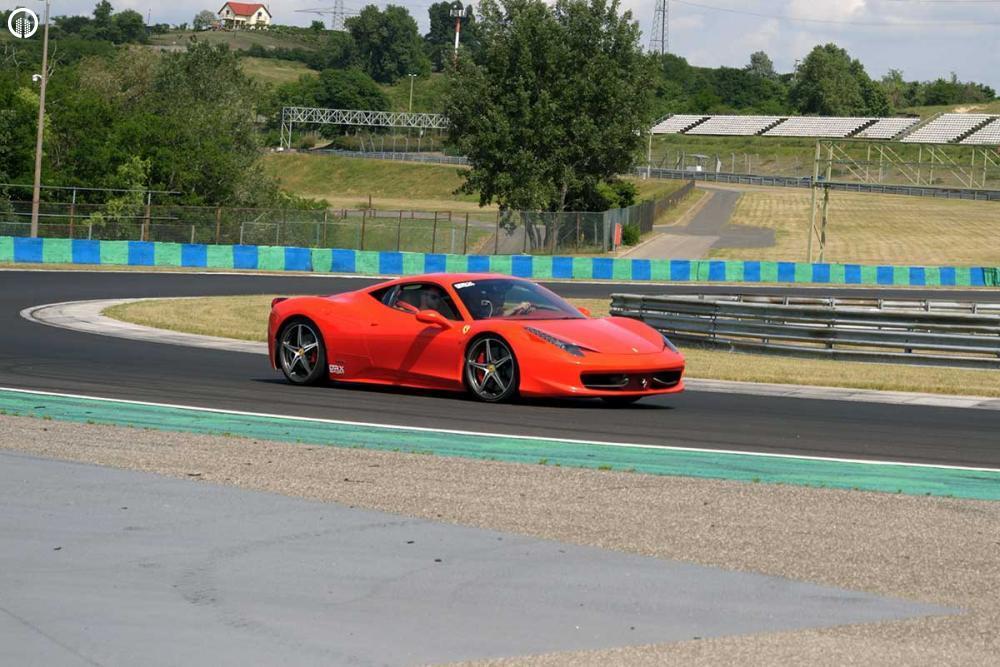Ferrari 458 Italia Vezetés az EuroRingen - 5.
