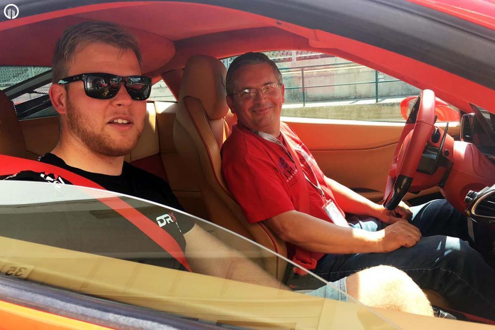 Ferrari 458 Italia Vezetés a Hungaroringen - 1.