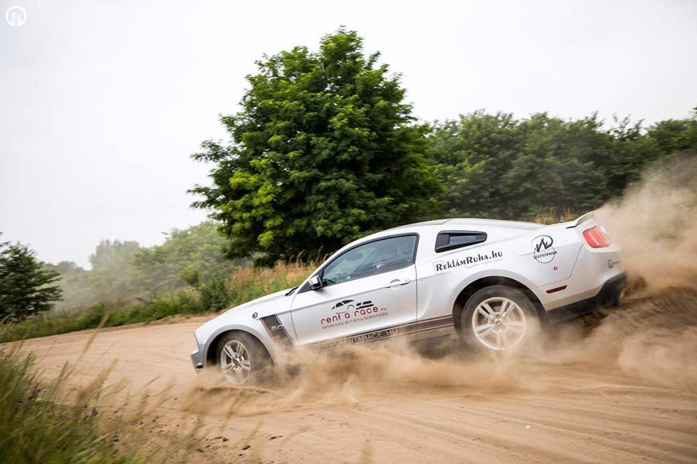 Ford Mustang GT 5.0 Coyote Rally Izomautó Vezetés a PakonyRingen - 5.