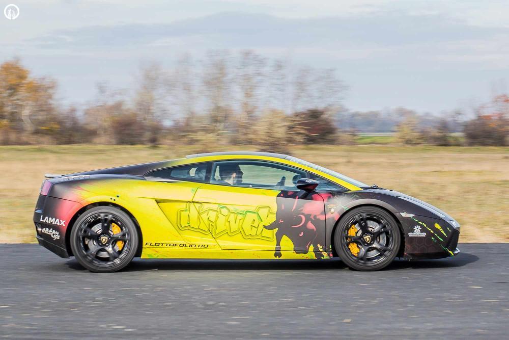 Olasz legendák egy csomagban  | Ferrari 458 Italia és Lamborghini Gallardo Vezetés - 3.