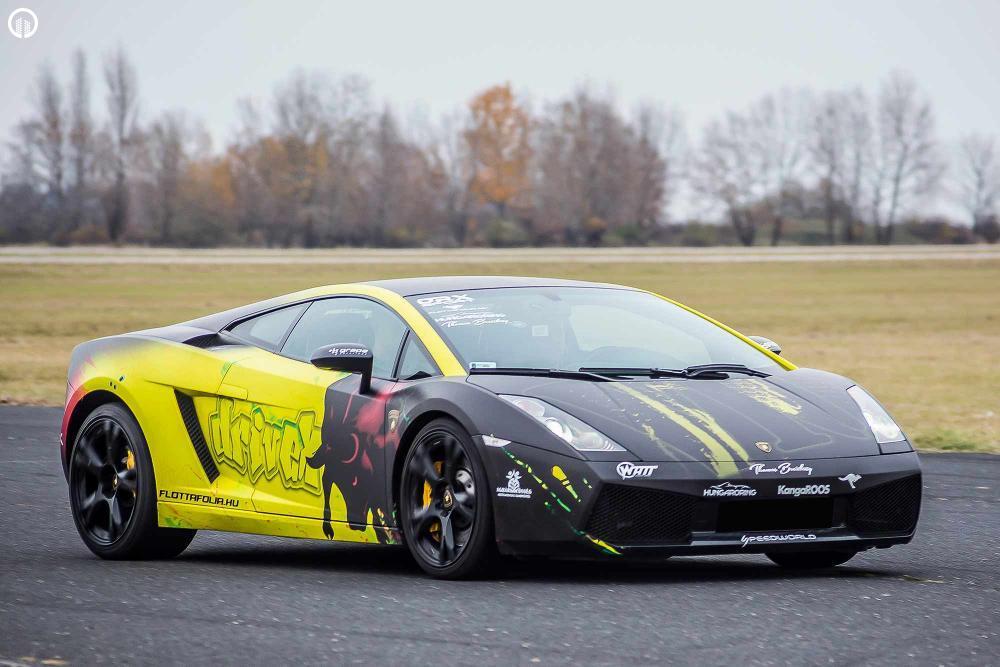 Olasz legendák egy csomagban  | Ferrari 458 Italia és Lamborghini Gallardo Vezetés - 4.