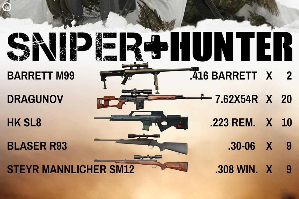 Élménylövészet | Sniper+Hunter Csomag - 1.