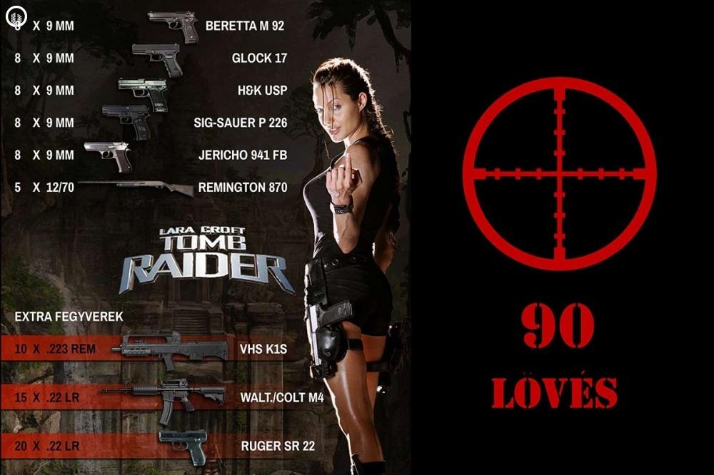 Élménylövészet | Tomb Raider Csomag - 1.