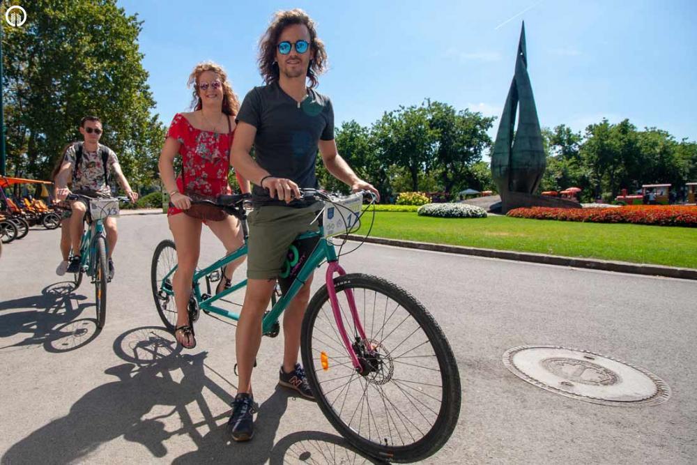 Tandem Bicikli Kirándulás a Margitszigeten - 4.