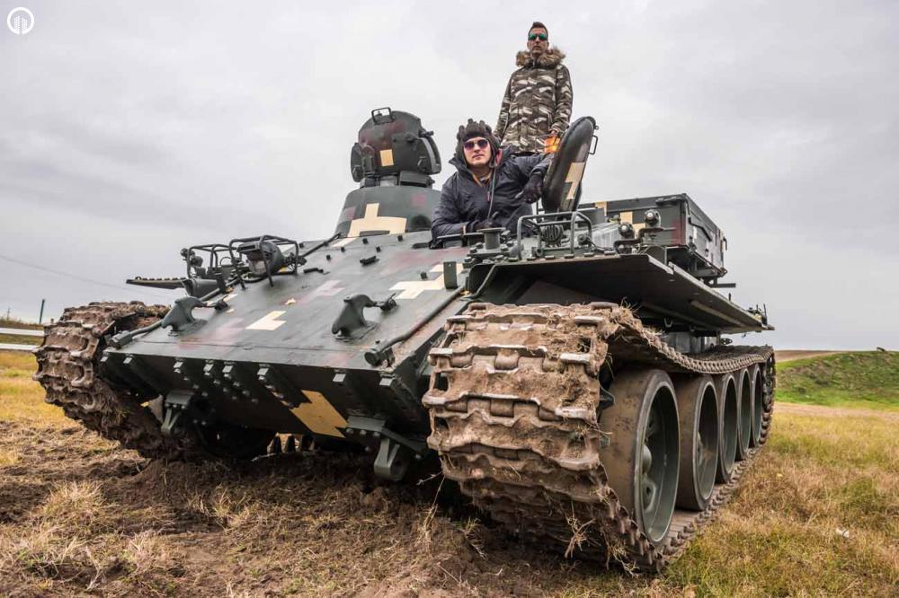 Tank és Big Foot Élményvezetés | Igazi Adrenalin Löket - 3.