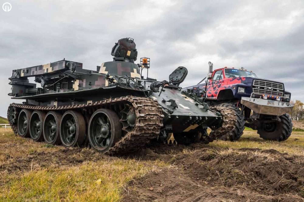 Tank és Big Foot Élményvezetés | Igazi Adrenalin Löket - 1.