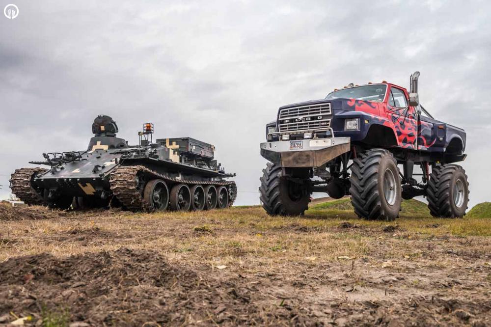 Tank és Big Foot Élményvezetés | Igazi Adrenalin Löket - 5.