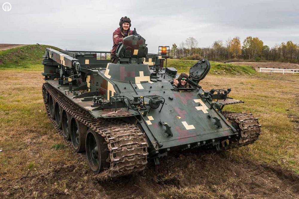 TankVezetés | Egyedi Military Élmény - 1.