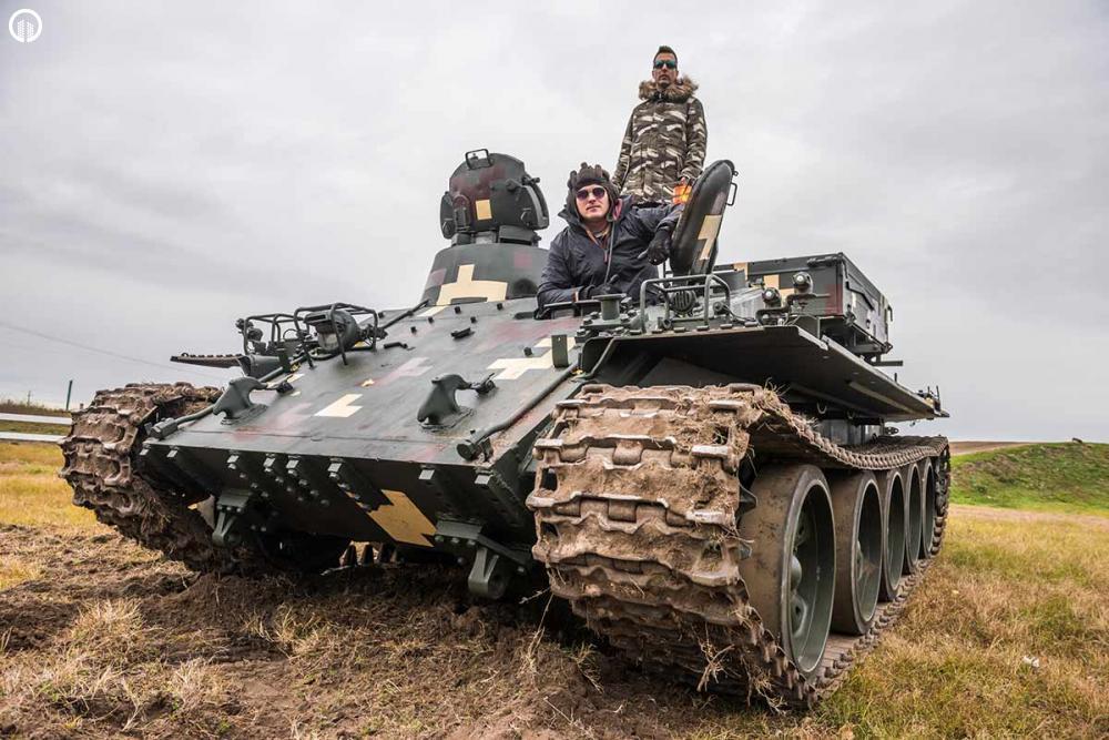 TankVezetés | Egyedi Military Élmény - 2.