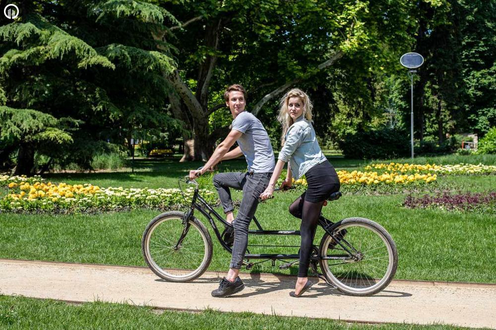 Tandem Bicikli Kirándulás a Margitszigeten - 3.