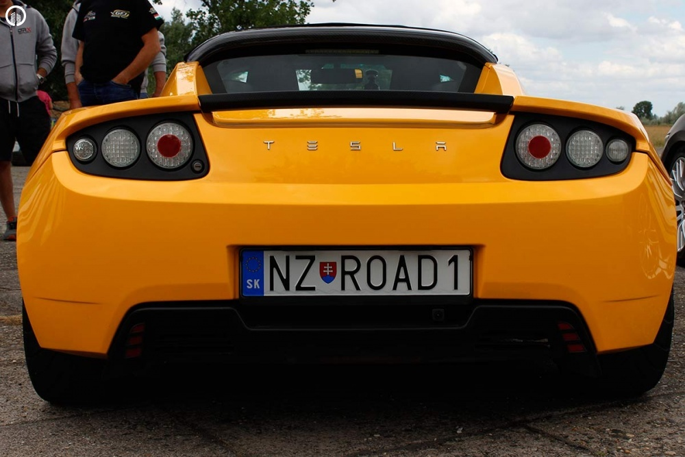 Tesla Roadster Elektromos SzuperSportautó Vezetés a HungaroRingen - 5.