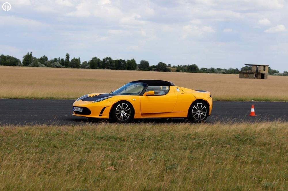 Tesla Roadster Elektromos SzuperSportautó Vezetés a HungaroRingen - 6.